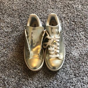 Adidas Stan Smith Gold Sneakers